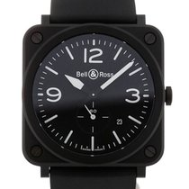Bell & Ross Aviation 39mm Quartz Black Dial