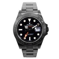 Rolex DLC/PVD 42mm Explorer ll Black Dial - 216570 model