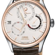 Oris Artelier Calibre 112 Gold/Steel 43mm Silver United States of America, New York, Airmont