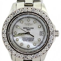 Breitling Colt Ocean Ladies'  White Mother Of Pearl Dial...