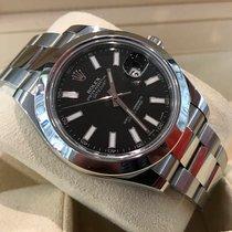 Rolex Oyster Datejust II Steel Black Dial 41 mm (Full Set)