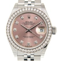 劳力士  Lady Datejust White Gold And Steel Pink Automatic...