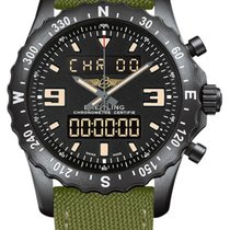 Breitling Chronospace Military pre-owned 46mm Steel
