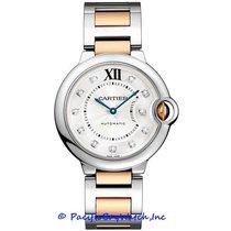 Cartier Ballon Bleu new Automatic Watch with original box and original papers W3BB0018