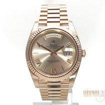 Rolex Day-Date 40 Oro rosado 40mm Rosa Romanos