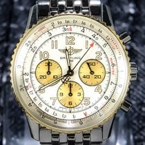 Breitling Navitimer 2Tone Gold/Steel with rare gold sub-dials