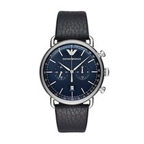 Armani Chronograph 2018 neu Blau