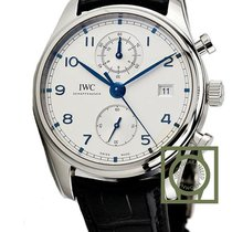 IWC Portuguese Chronograph nieuw 42mm Staal
