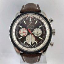 Breitling Chrono-Matic 49 Stahl 49mm Braun Keine Ziffern