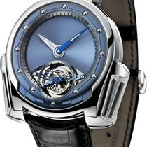 De Bethune new Manual winding Power Reserve Display 43mm Platinum Sapphire crystal