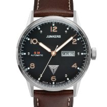 Junkers Steel 42mm Automatic 6966-5 new