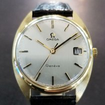 Omega Genève Yellow gold 34mm Silver United States of America, California, Beverly Hills