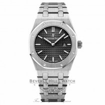 Audemars Piguet Royal Oak Lady Acero 33mm Negro Sin cifras