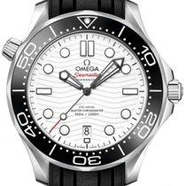 Omega Seamaster Diver 300 M Acier 42mm Blanc