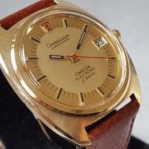Omega Constellation Gelbgold 38mm Gold (massiv) Keine Ziffern