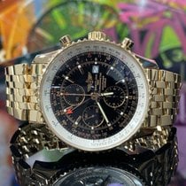 Breitling Navitimer World Rose gold Black
