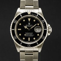Rolex Submariner Date Acier 40mm Noir Sans chiffres France, Paris
