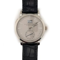 A. Lange & Söhne Langematik Platinum 37mm Silver United States of America, New York, New York