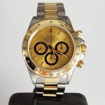 Rolex Daytona Gold/Steel 40mm Gold No numerals