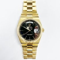 Rolex Day-Date Oysterquartz Yellow gold 36mm Black No numerals United States of America, New York, New York