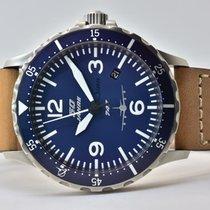 Sinn 856 / 857 Stahl 43mm Blau Arabisch Deutschland, Iffezheim