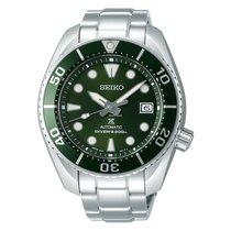 Seiko Prospex Çelik 45mm Yeşil Rakamsız