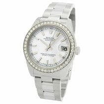 Rolex Lady-Datejust Otel 31mm Alb