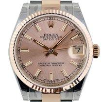Rolex Datejust 31mm Steel & Everose Gold Pink Index