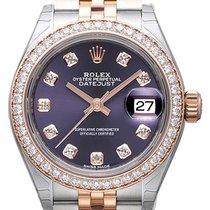 Rolex Lady-Datejust 28 279381RBR Aubergine Diamant Jubile-Band