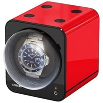 Beco Watch Winder Boxy Fancy Brick Red Module System NEW