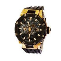 Rebellion modern watch, pink gold, very heavy, modern design,...