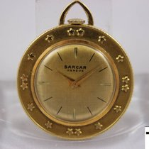 Sarcar Oro amarillo 31mm Cuerda manual usados