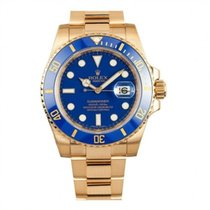 Rolex Submariner Date 18K Solid Yellow Gold Automatic