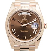 勞力士 (Rolex) Day-date 18k Rose Gold Brown Automatic 228235BRRN