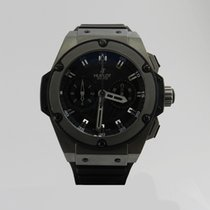 Hublot Tantalum Automatic Black 48mm pre-owned King Power