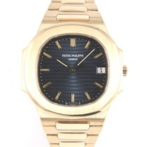 Patek Philippe Nautilus 3900 yellow gold blue dial