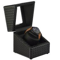 Luxury Watches USA Single Watch Winder Case Display Box Black...