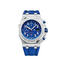 Audemars Piguet Royal Oak Offshore Chronograph Steel Blue Dial...