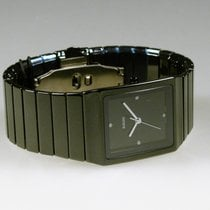 Rado Ceramica Ceramic 30mm Black No numerals