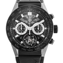 TAG Heuer Carrera Heuer-02T occasion 45mm Titane