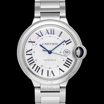 Cartier Ballon Bleu 42mm Steel 42.10mm Silver United States of America, California, San Mateo