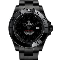 Black-Out Concept Steel 44mm Automatic BOCBH8-7 new
