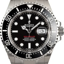 Rolex Sea-Dweller Stahl 43mm Schwarz Keine Ziffern Schweiz, Roveredo