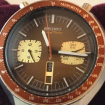 Seiko Bullhead Steel 46mm Brown No numerals