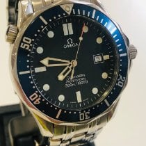 Omega 2541.80 Steel 2014 Seamaster 41mm pre-owned