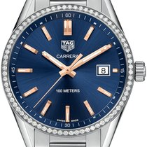 TAG Heuer Carrera Lady Steel 39mm Blue