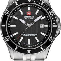 Swiss Military Hanowa Flagship Steel 42mm Black No numerals