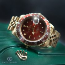 Rolex GMT-Master Yellow gold 40mm Red No numerals South Africa, Johannesburg