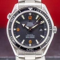Omega Seamaster Planet Ocean Steel 45.5mm Black Arabic numerals United States of America, Massachusetts, Boston