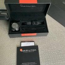 Hamilton Khaki Navy BeLOWZERO occasion 46mm Noir Date Caoutchouc